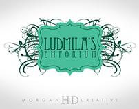 Ludmila's Emporium: Logo Design