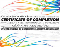 Community Arts Partnerships, Detroit
