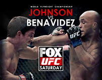 Poster UFC on FOX 9: Johnson vs Benavidez II