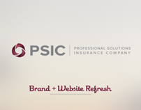 PSIC Brand + Website Refresh