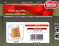 Catálogo de Ventas Chocolates Nestlé