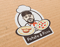 Pizza & Potato Logo