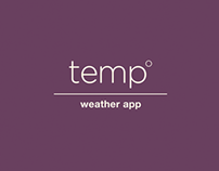 temp weather app