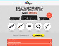 Tv Pad - Wordpress Single Page Theme