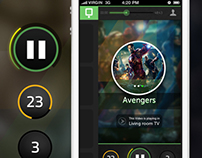 TV Player Application for iOS & Android