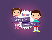 Joker'le Okullu Olduk