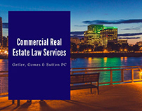 Commercial Real Estate Law Services