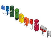 Rainbow Mailbox
