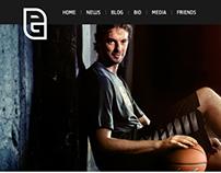 Pau Gasol website