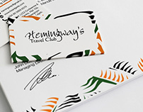 Hemingway's Travel Club - Identity Design