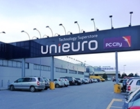UniEuro Physical Shop Space