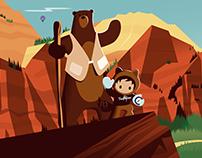 Salesforce Trailhead Mural