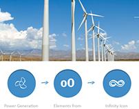 Logo Design & Concept for Grupo Oswal Power Generation