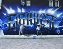 ESTRADA STAGE BAR - mural