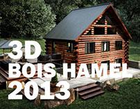 Chalet 3d Bois Hamel 2013