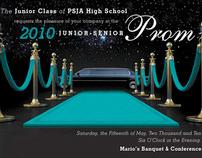 2010 PSJA High School Prom Invitation