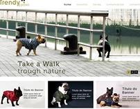 Web & UI  - Dog accessories