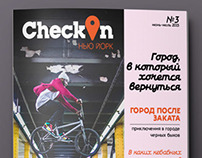 """""""Check In"""" Magazine"""
