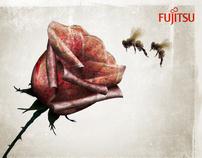 Fujitsu Rose Illustrations