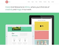 Wimo - One page HTML Template