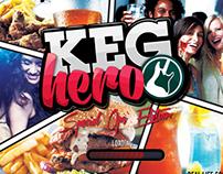 KEG HERO - Real life Video Game :)