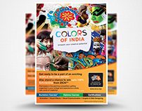 ZICA - COLORS OF INDIA (Activity Collaterals)
