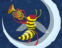 Hornet with a Cornet