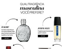 Perfum web editorial