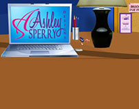 Web Banner for Ashley Sperry Designs