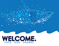 Save Our Sharks Site Concept