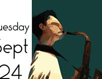 Saxophone Recital Poster