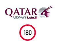 Qatar Airways by Diver & Aguilar for 180 Amsterdam