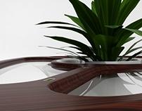 Bromelia Table