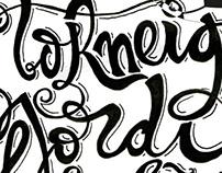 Lettering samarreta