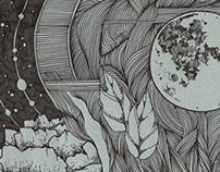 Moon still life