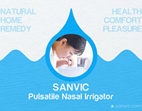 Sanvic Pulsatile Nasal Irrigator