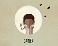 """La storia di Samira"" _ Motion graphic"