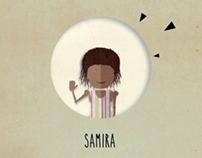 """""""La storia di Samira"""" _ Motion graphic"""