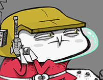 Mr. Mars Video Game Concept