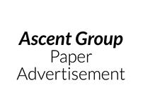 Paper Advertisement- Ascent Group