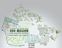 Canadian Forestry info-graphic