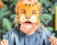 Jungle : Tropical Kids Room