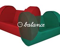 | BALANCE | cardboard chair