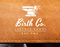 Birth Co. - Leather Goods Identity