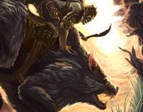 Orc Warg Rider