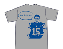 The Sweet Tebows – Football T-Shirt