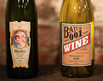 Brooklyn Winery Wine Labels