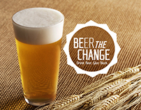 Beer the Change - Branding