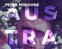Peppe Mingione - Australia Tour 2013 Posters