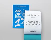 Type design for Typodarium 2014